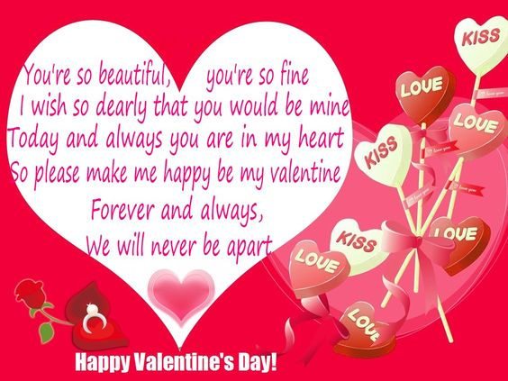 Happy Valentine's Day Cards, e-card and Messages