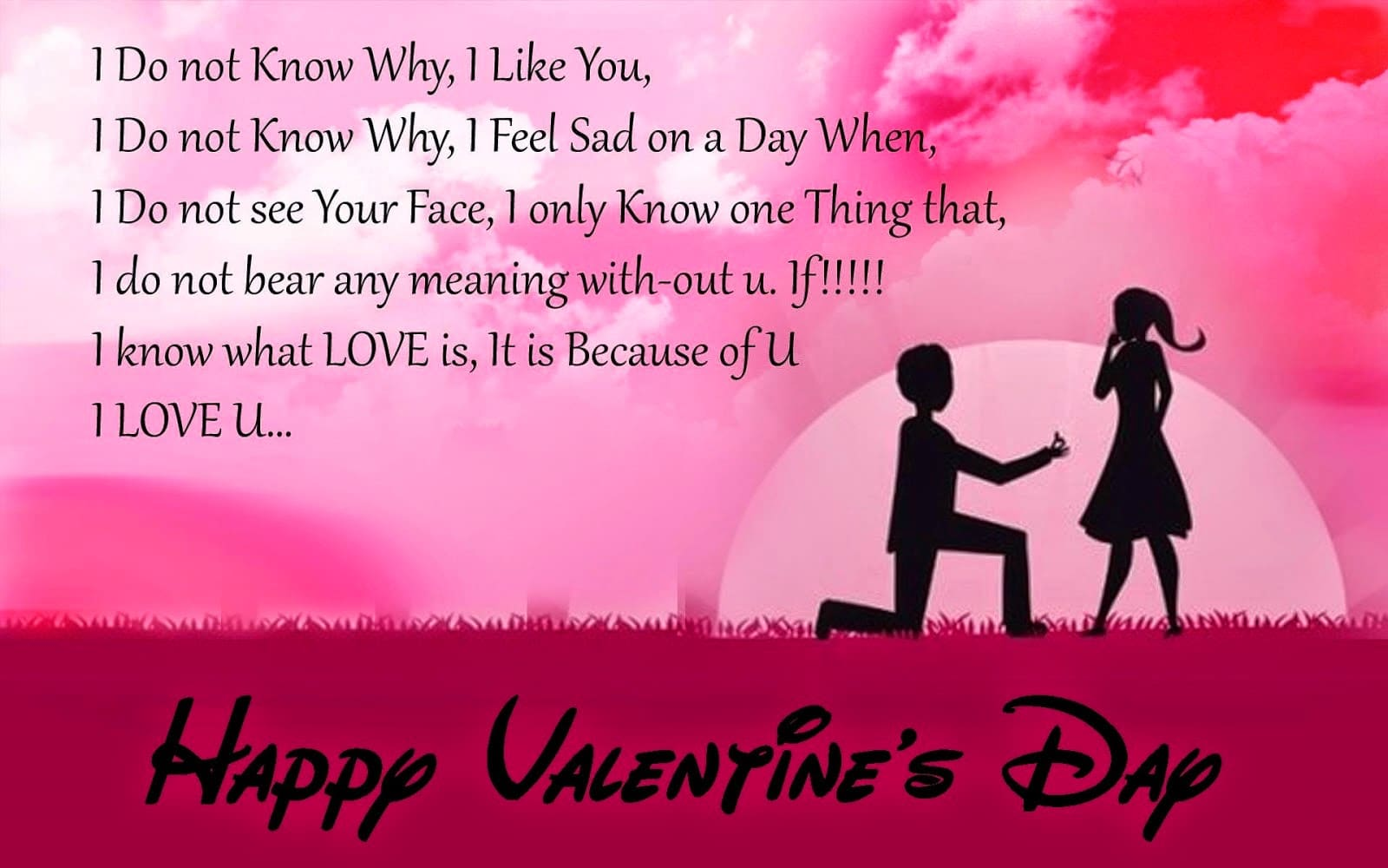 Happy Valentine's Day Messages and cards for her