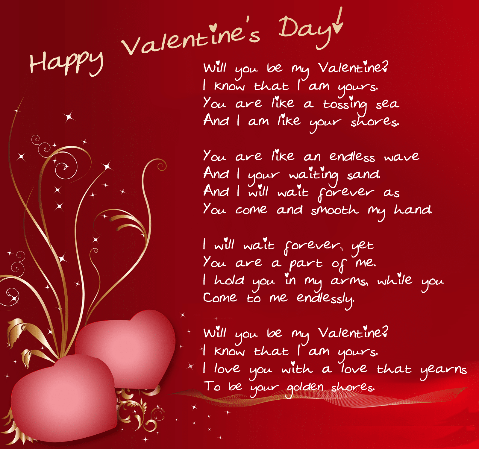Happy Valentine's Day Wishes Greeting Cards