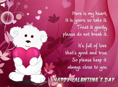 Valentine's Day Saying and Greeting Cards