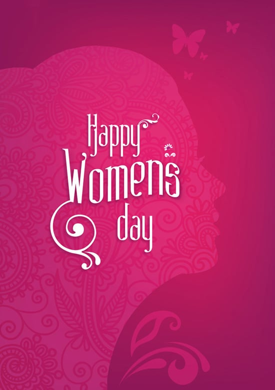 Cliparts and Clip arts of Happy Womens Day