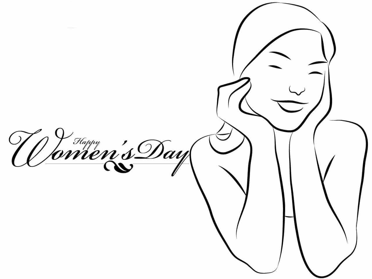 Cliparts of Happy International Women's Day