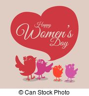 Cliparts of Happy Women's Day