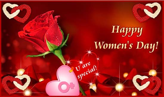 Greetings for Happy Women's Day 2017