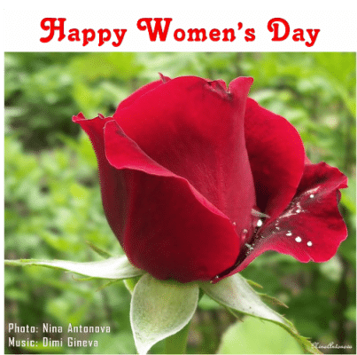 Greetings for International Women's Day