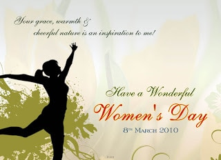 Greetings for Women's Day