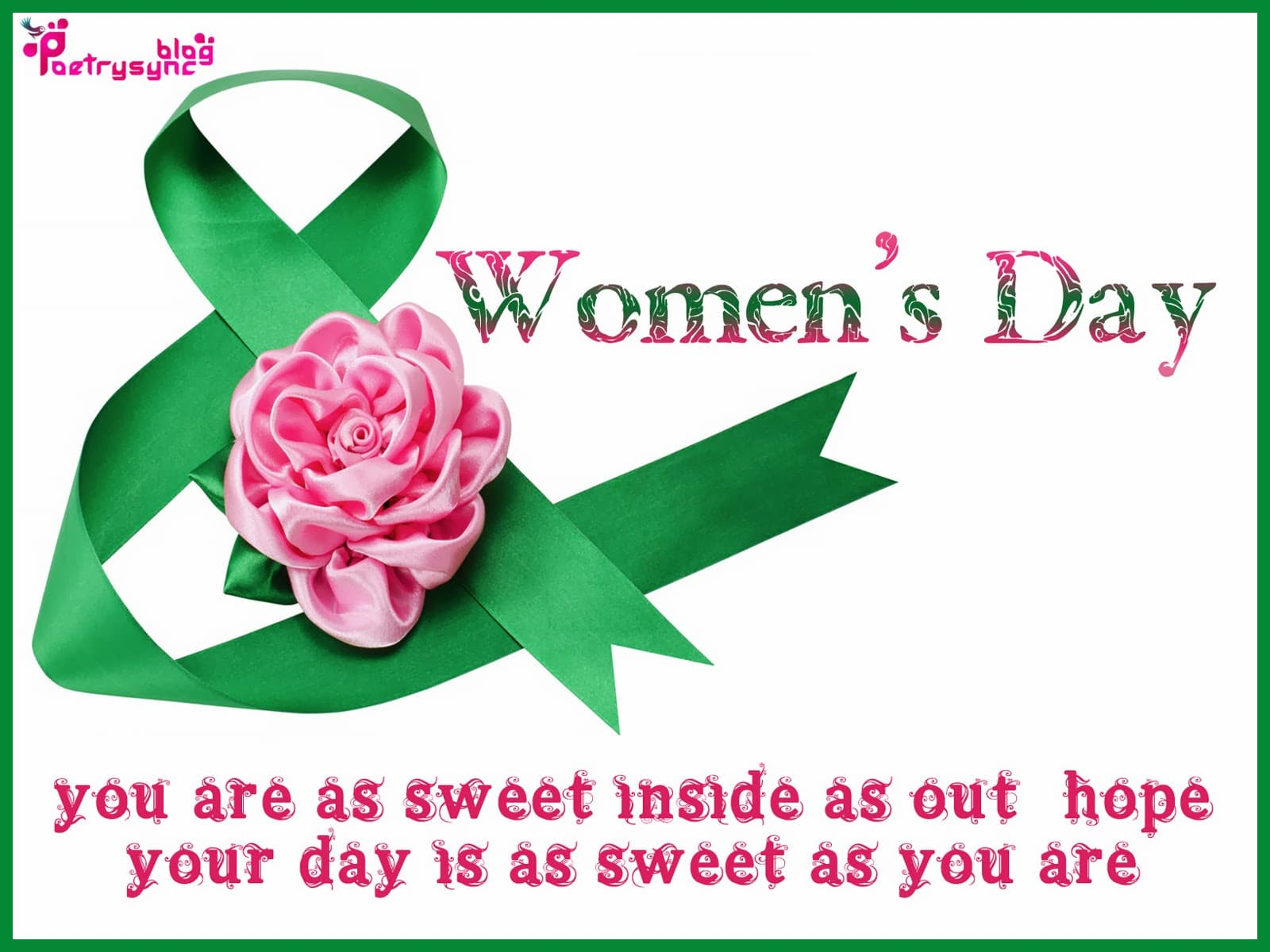 HD Images and Wallpaper of Women's Day Wishes