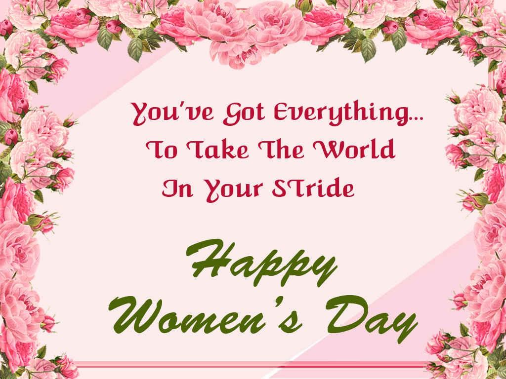 Happy International Womenu0027s Day Greeting Cards, Wishes And Images
