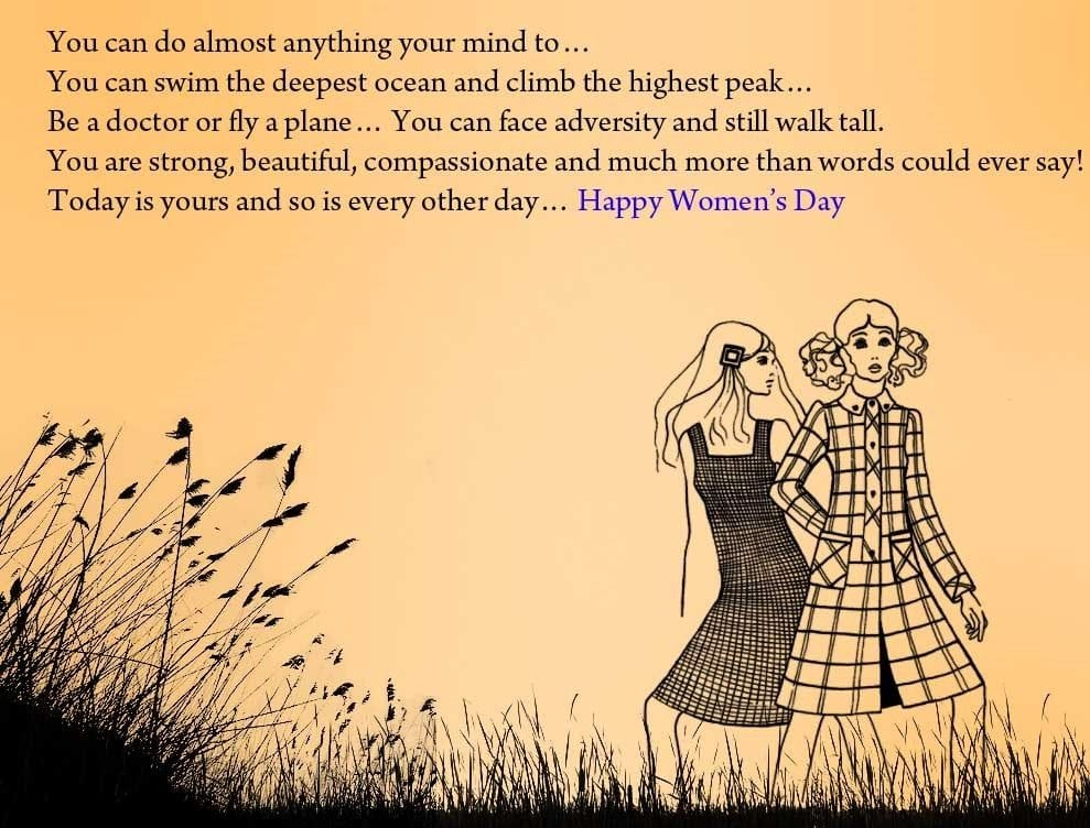 Happy International Women's Day Quotes for Mother and all women