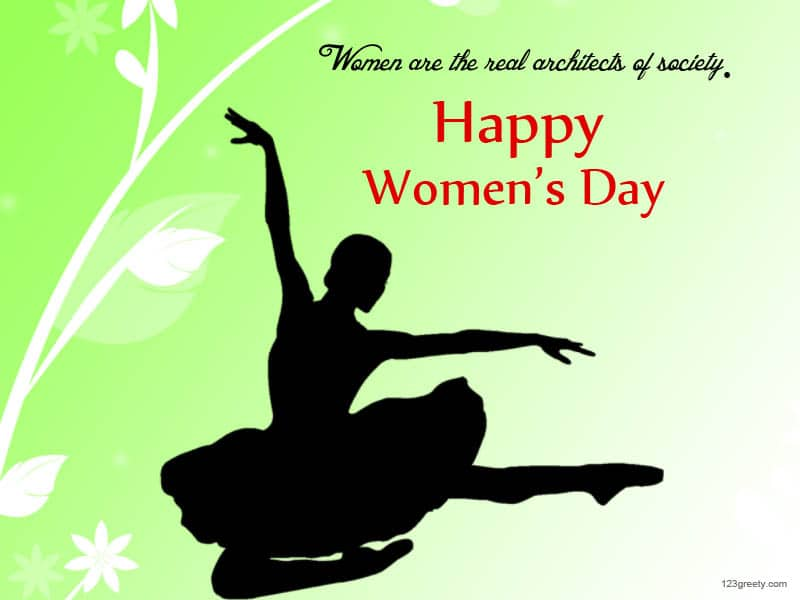 Happy International Women's Day 2017 Cliparts and logo
