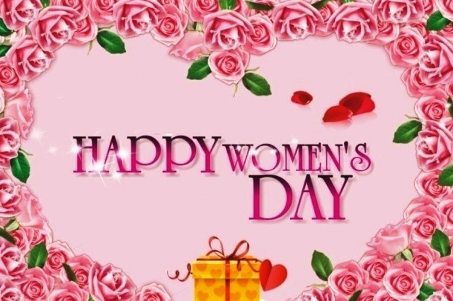 Happy International Women's Day 2017 Greeting cards