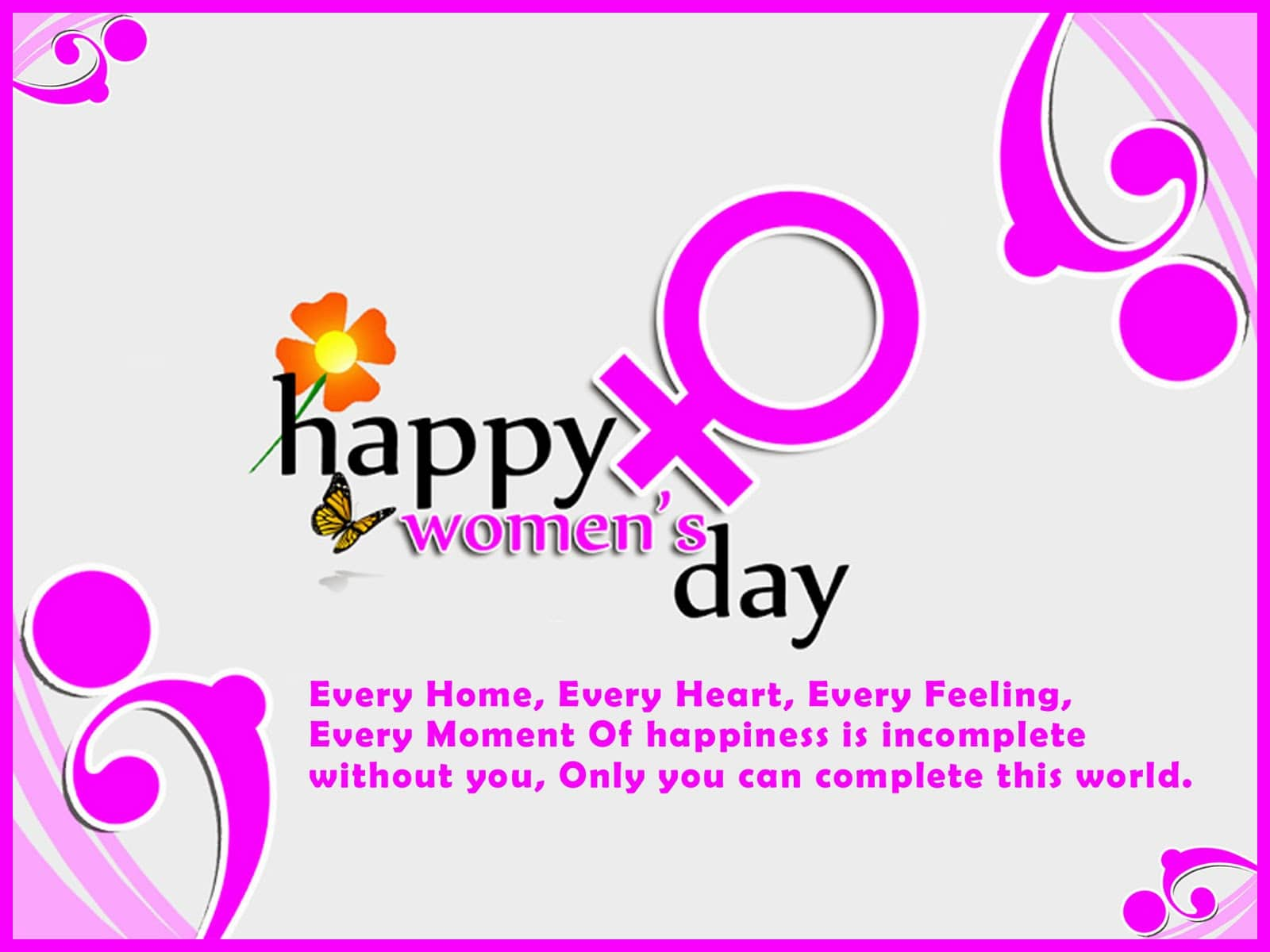 Happy Women's Day Funny Messages ,Wishes,Saying