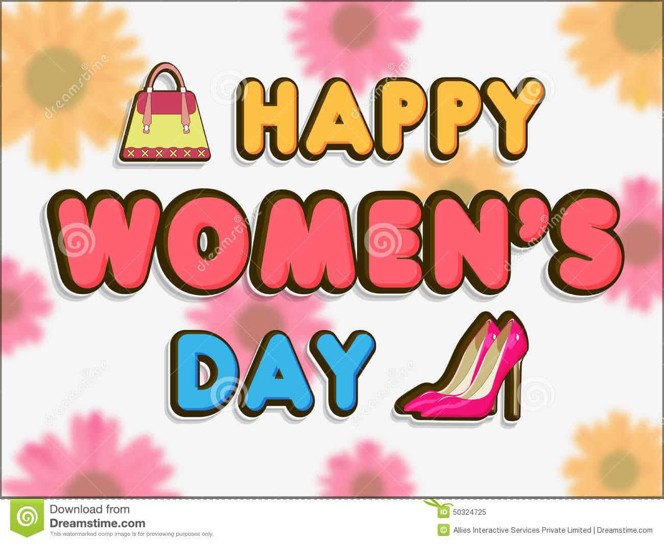 Happy Women's Day HD Images Poster