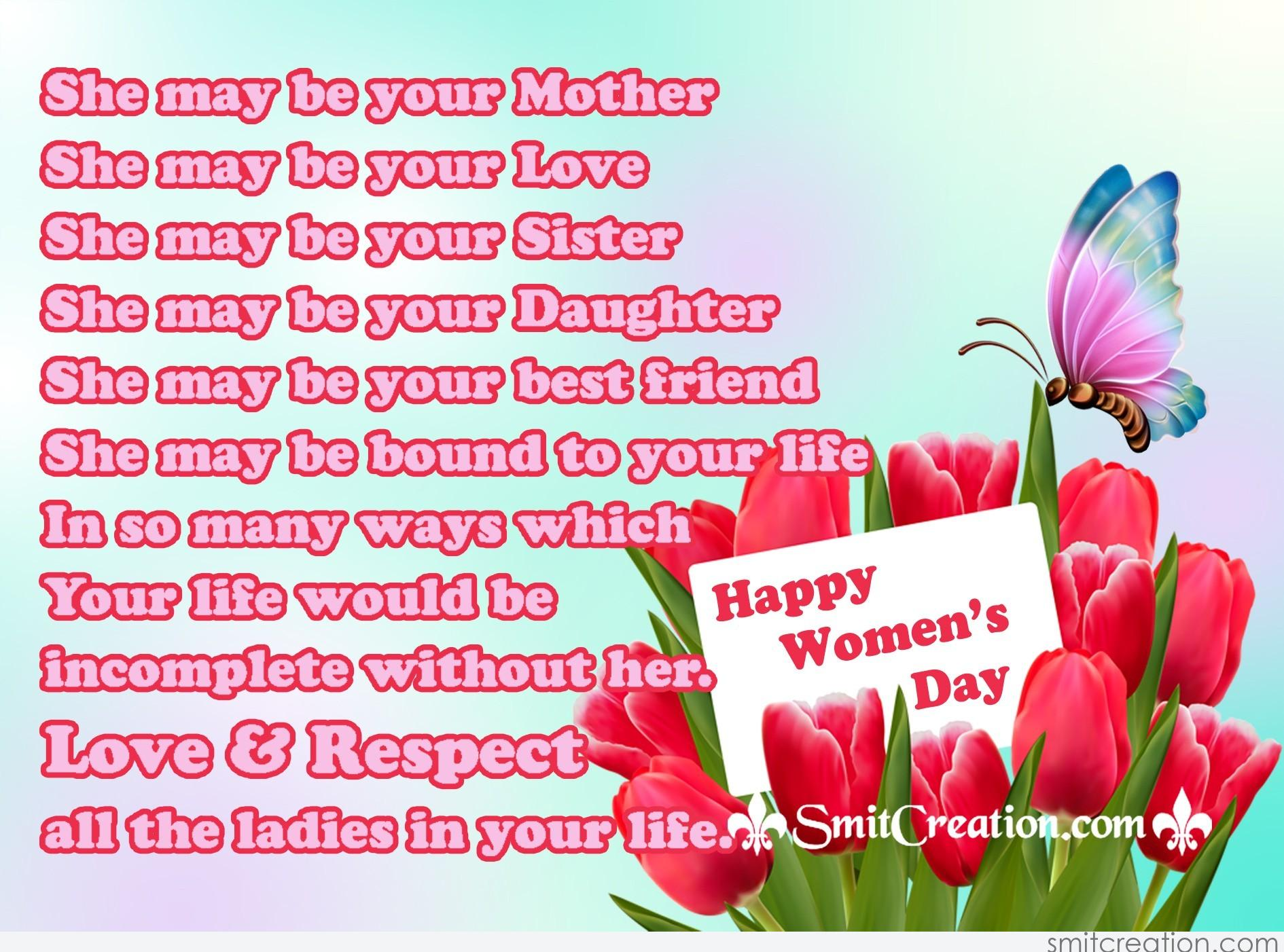 Images and pictures for Happy Women's Day