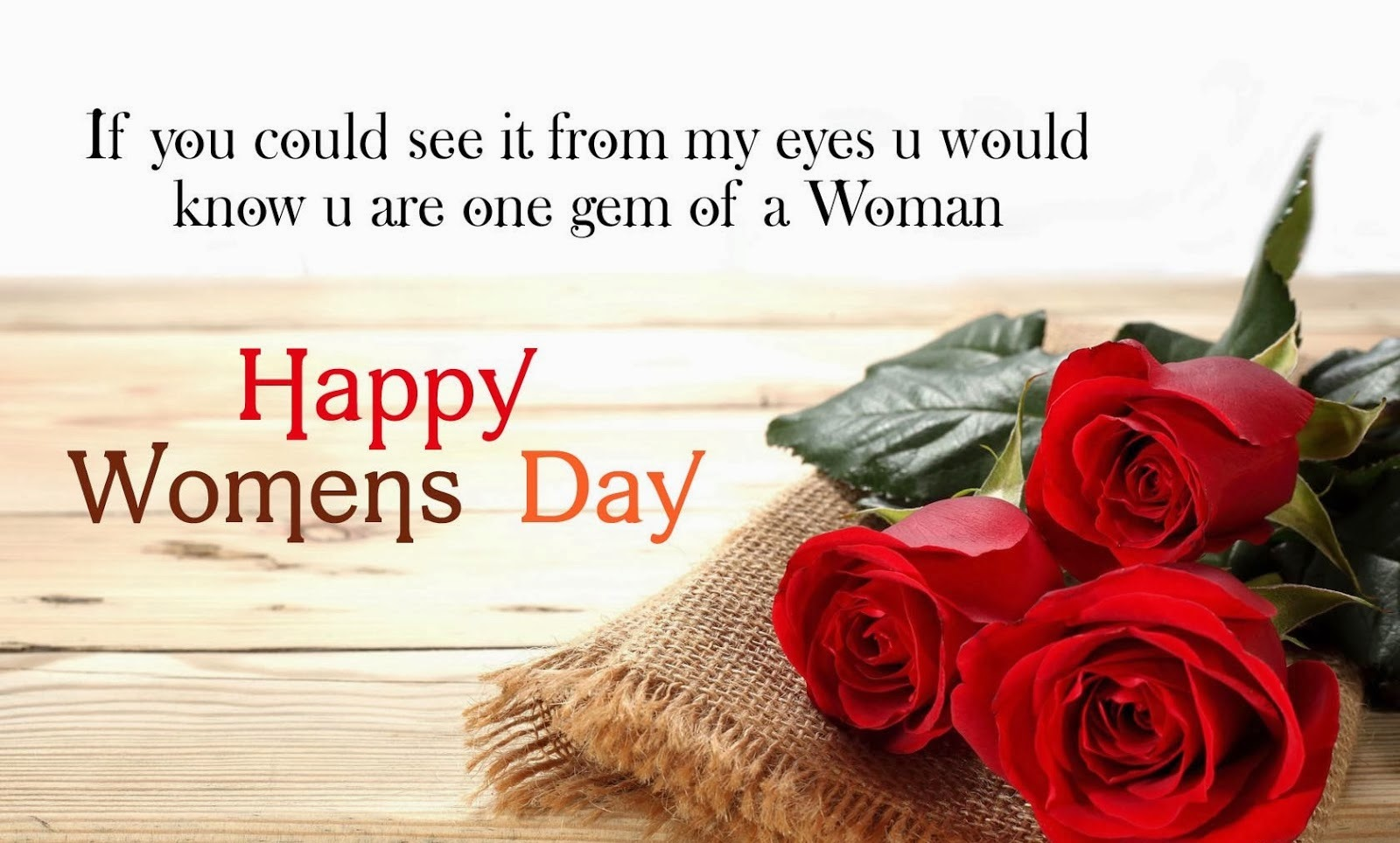 Images of Happy Women's Day Wishes