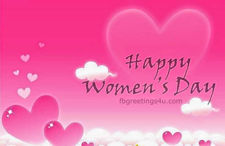 International Women's Day GIF Image For Facebook