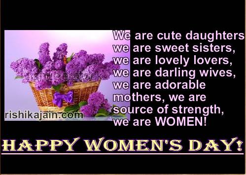 International Women's Day Greeting Cards
