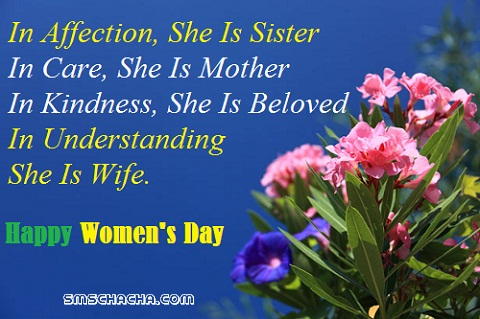 International Women's Day SMS and Messages for all
