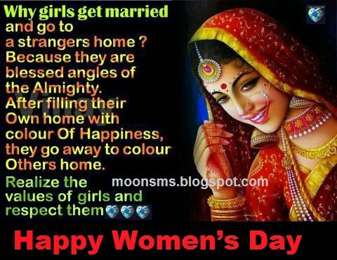 Messages and SMS for Happy Women's Day