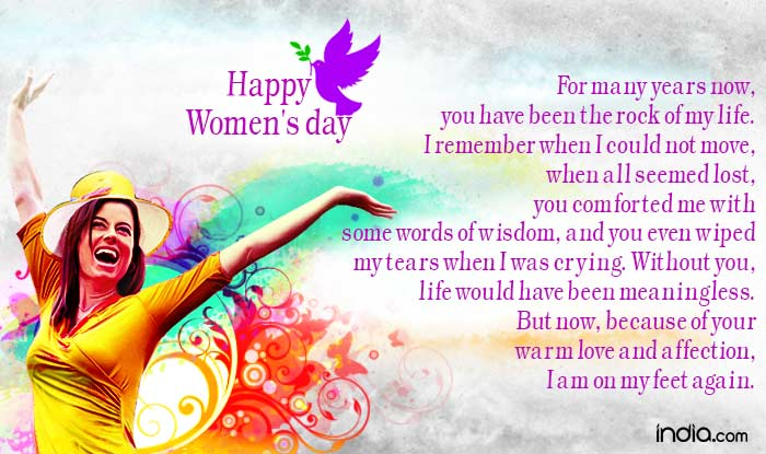Whatsapp Status and Msg For Happy Women's Day