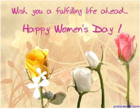 Wishes For Women on this International Women's Day