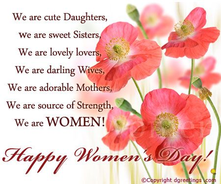 Wishes Pictures for International Women's Day 2017