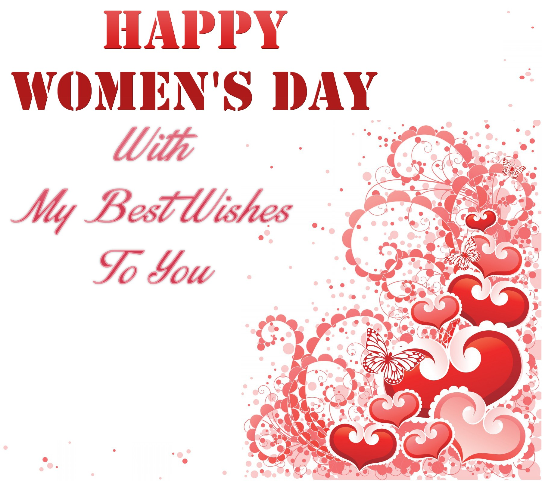 Wishes for International Women's Day for all