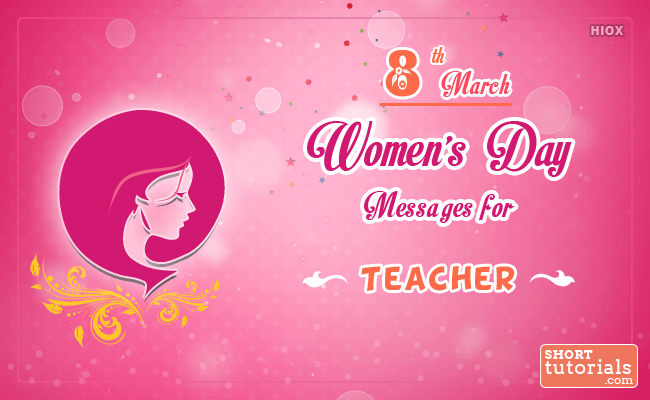 Wishes for Women's Day