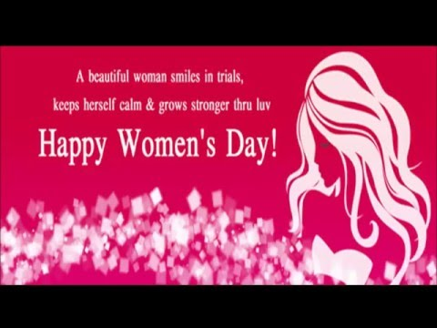 Women's Day 2017 Card and Gif