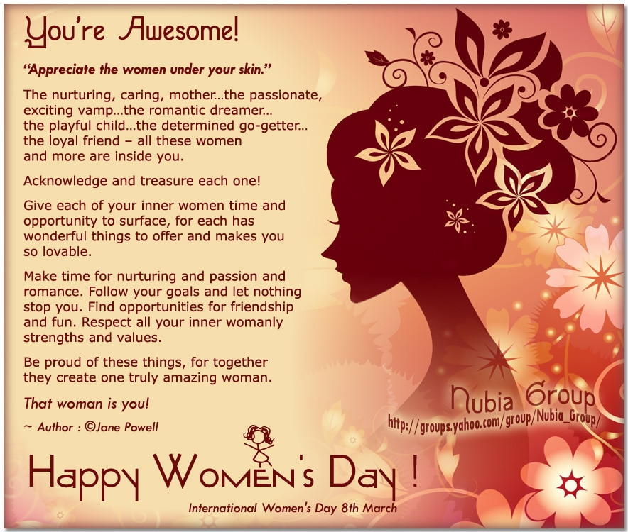 Women's Day Images,Pic and Photos