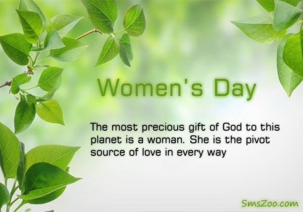 Women's Day SMS and Messages