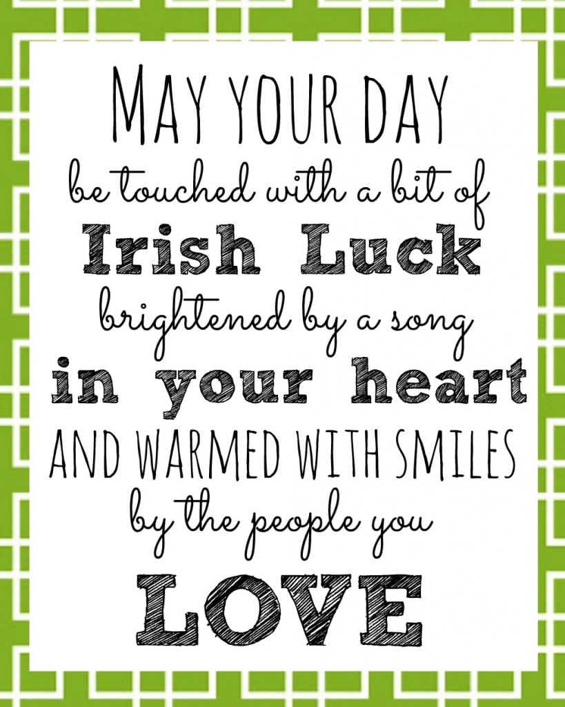 Blessings on St. Patrick's Day