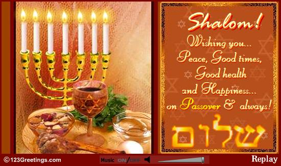 HD Images for Greetings For Passover