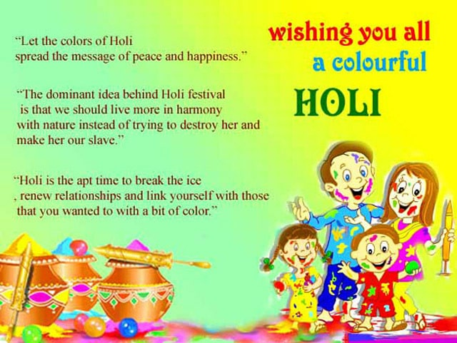 HD Images of Happy Holi Greetings