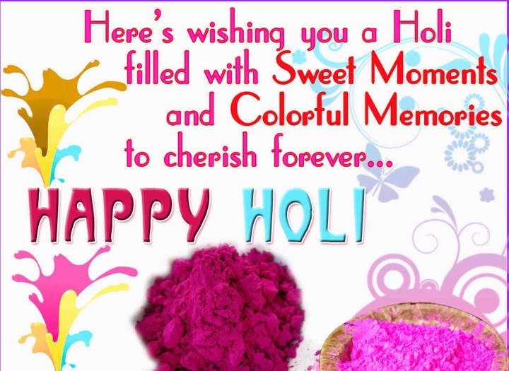 Happy Holi 2017 images in English