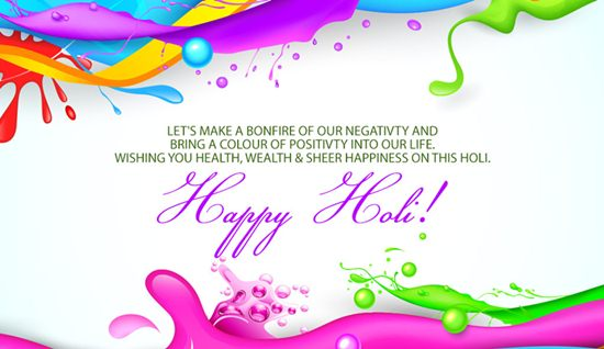 Happy Holi images in English