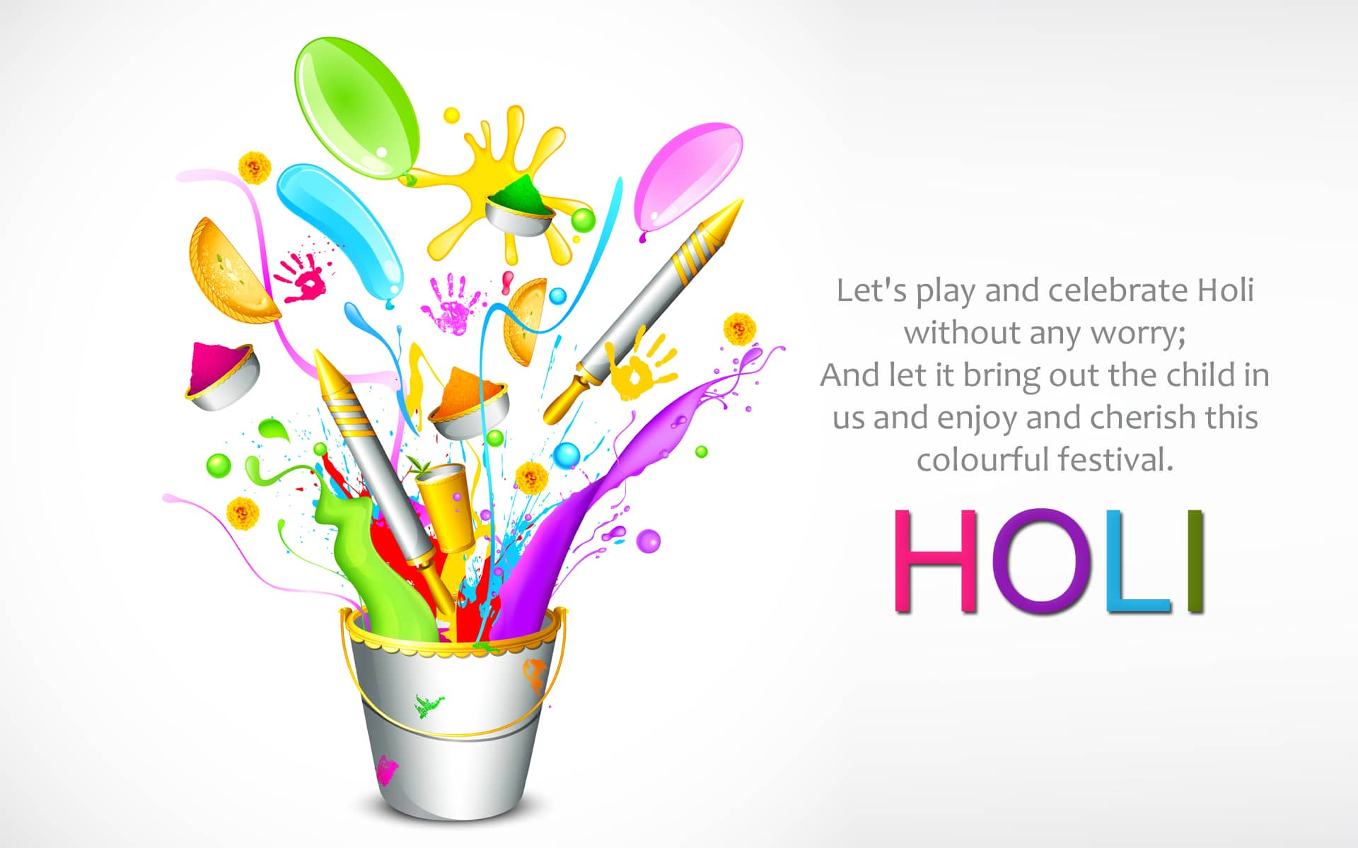 Happy Holi wishes, and Greetings