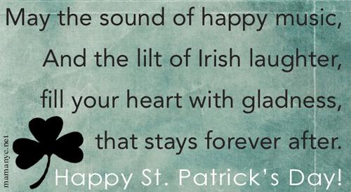 Happy St Patrick's Day Toasts