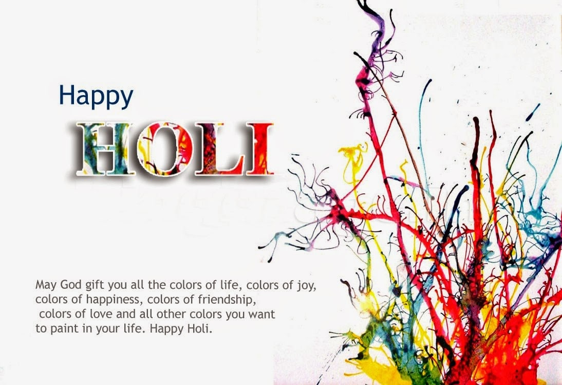 Holi 2017 festival Wishes