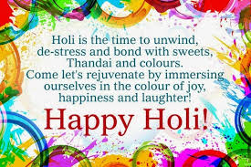 Holi Messages Quotes