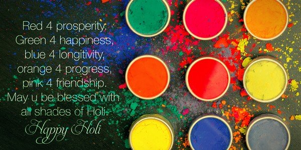 Holi festival Wishes