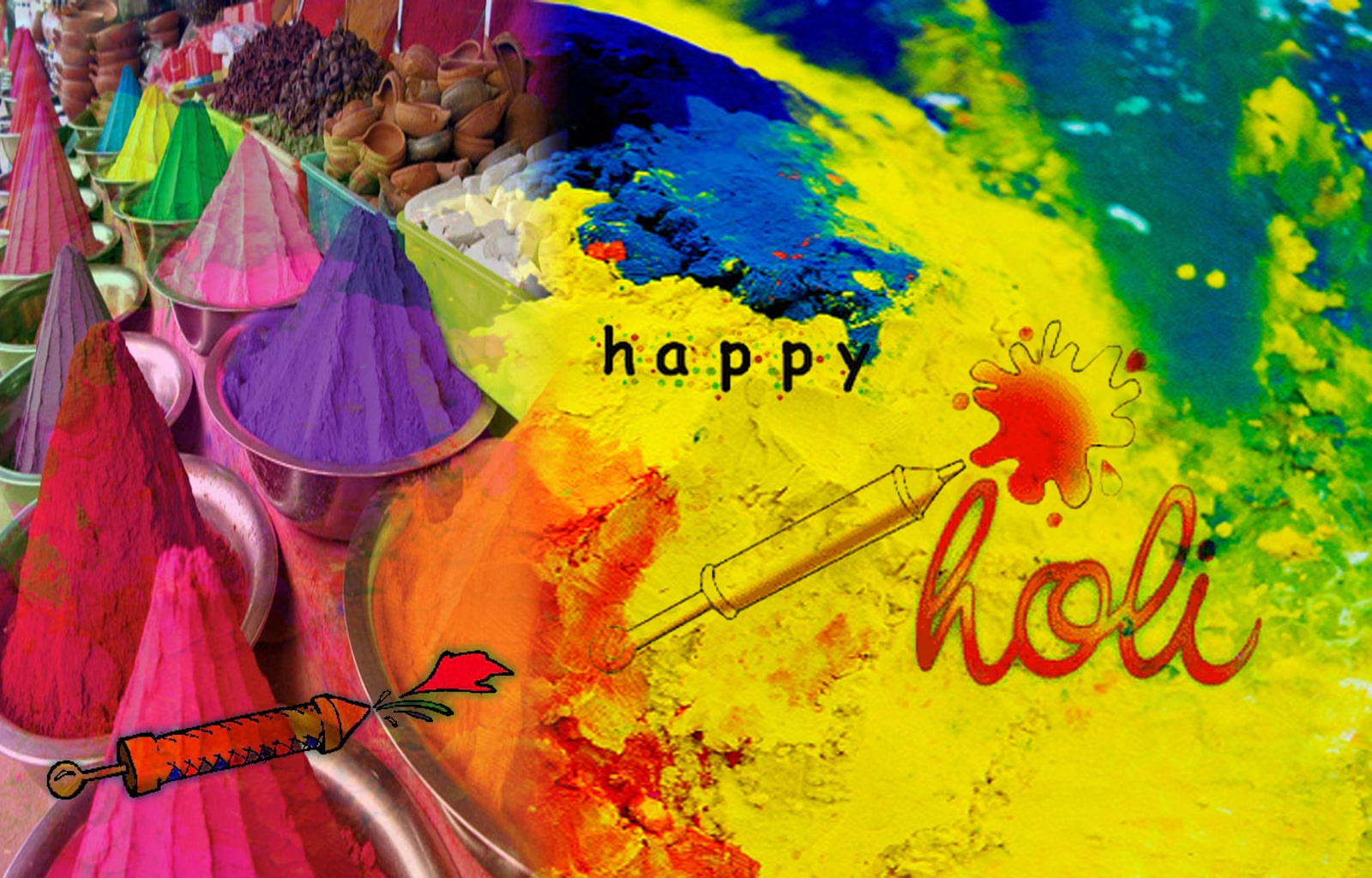 Images in HD for Holi