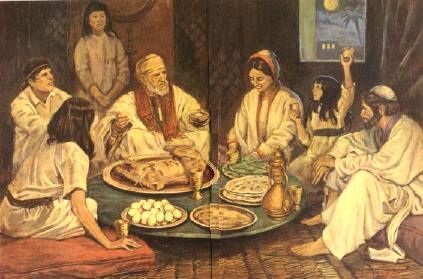 Images of Happy Passover Celebration