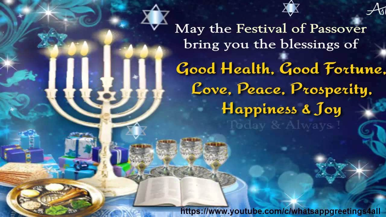 Images of Happy passover Wishes