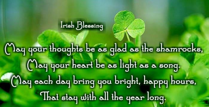 Irish Blessings on St. Patrick's Day 2017