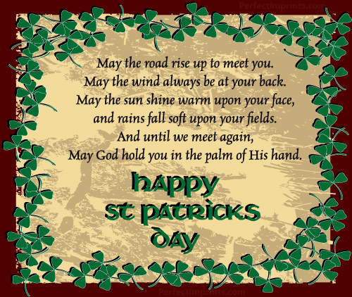 Irish Blessings on St. Patrick's Day