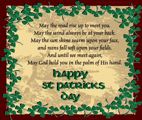 Irish Blessings on St. Patrick's Day