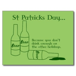 Saying on St. Patrick's Day