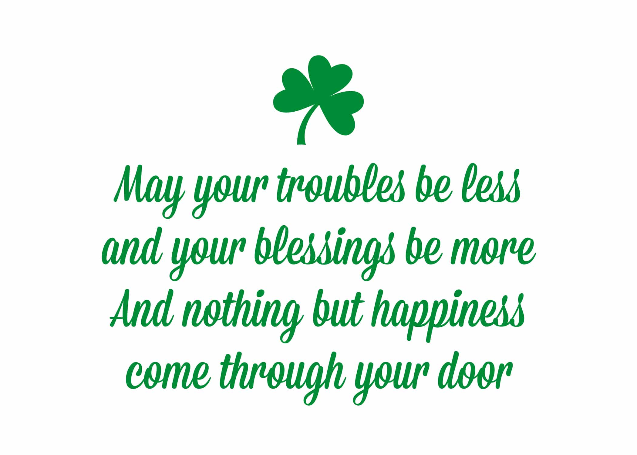 St Patrick's Day Quotes Proverbs