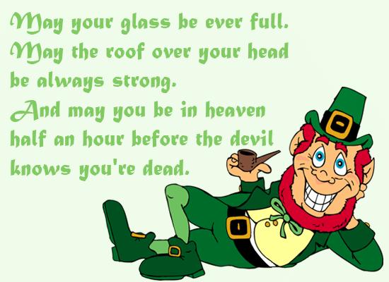 St Patrick's Day Toasts